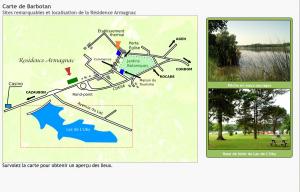 Carte vectorielle entièrement dessinée par nos soins, avec module d'images selon la zone survolée.