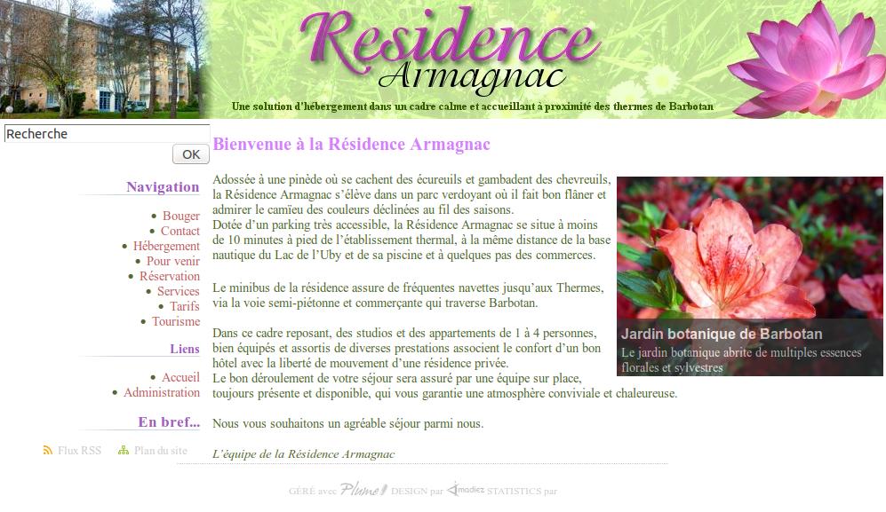 Résidence Armagnac