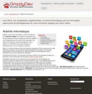 Présentation modulaire pour intégrer les références techniques des services proposés