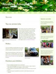 Lisibilité de la maquette du site
