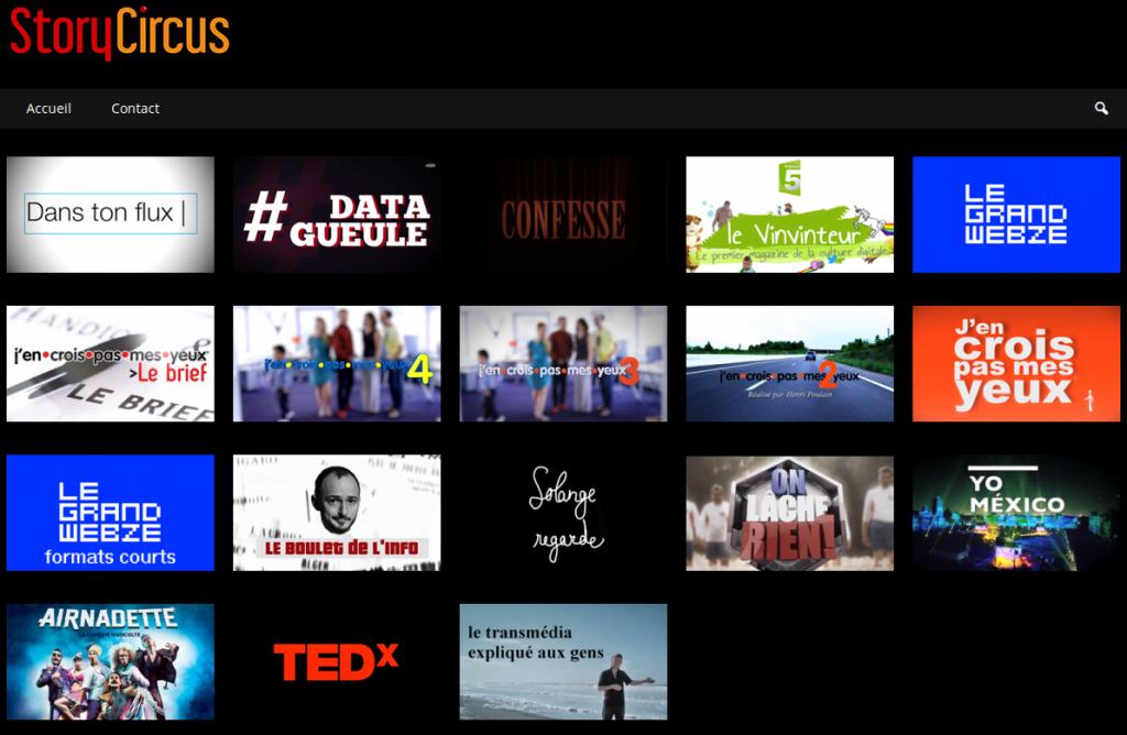 StoryCircus est une société de productions visuelles à laquelle nous devons, notamment, l'excellente série web #Data Gueule.