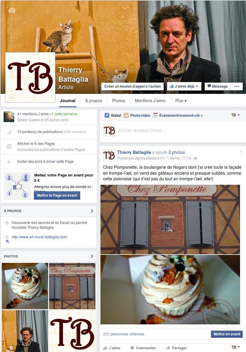 En seulement 2 semaines et 2 publications, la page Facebook a obtenu à partir de rien 41 likes et plus de 500 visualisations