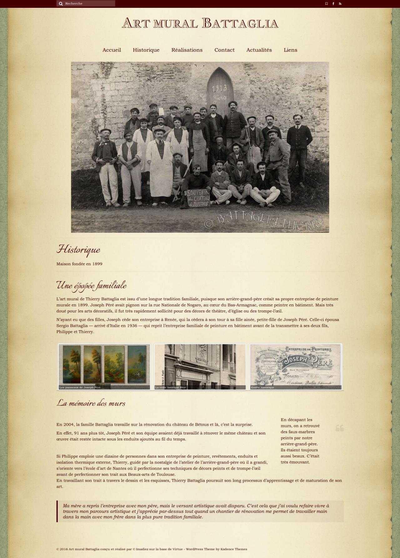 Quand l'accès à une œuvre passe par un détour dans l'histoire d'une famille et d'une région : la Gascogne